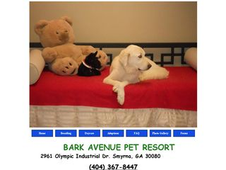 Bark Avenue Pet Resort Smyrna