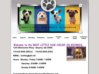 Best Little Dog House in Georgia | Boarding