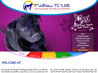 Pet Sitters R US | Boarding