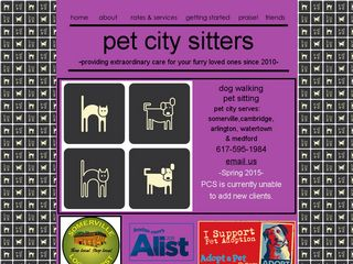 Pet City Sitters Somerville