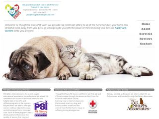 Thoughtful Paws Pet Care | Boarding