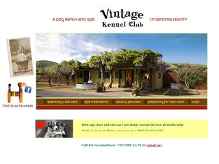 Vintage Kennel Club | Boarding