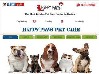 Happy Paws Boston South Boston