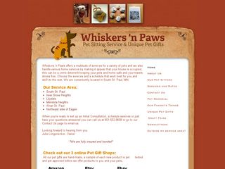 Whiskers n Paws South Saint Paul