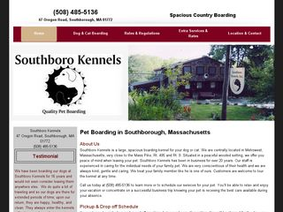 Southboro Boarding Kennels Southborough