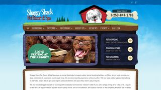 Shaggy Shack Pet Resort Spanaway