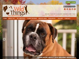 Wild Things Pet Services | Boarding