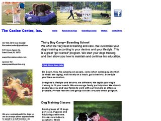 The Canine Center St Cloud
