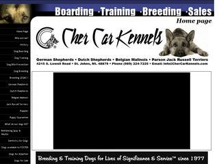 Cher Car Kennels | Boarding
