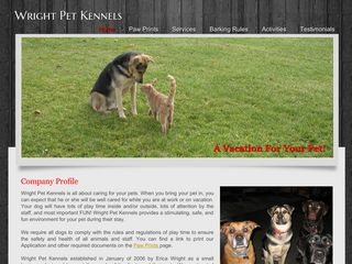 Wright Pet Kennels | Boarding