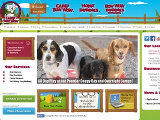 Camp Bow Wow Dog Boarding Stamford | Boarding