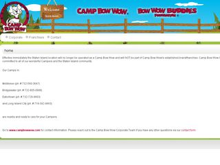 Camp Bow Wow Dog Boarding Staten Island Staten Island