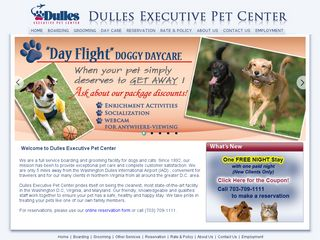Dulles Executive Pet Center | Boarding