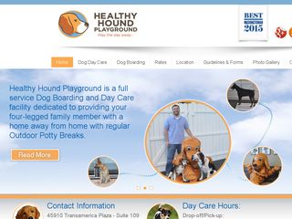 Healthy Hound Playground | Boarding