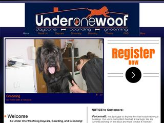 Under One Woof | Boarding