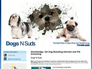 Dogs N Suds | Boarding