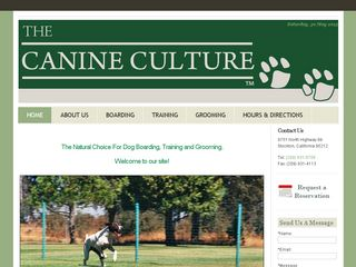 The Canine Culture | Boarding