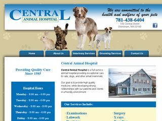 Photo of Central Animal Hospital in Stoneham