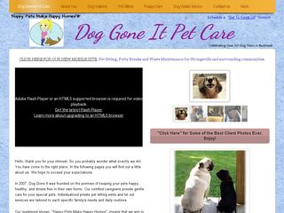 Dog Gone It Pet Care | Boarding