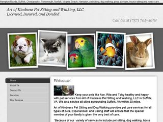 Art of Kindness Pet Sitting and Walking | Boarding