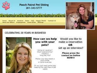 Pooch Patrol Pet Sitting | Boarding