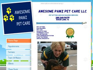 Awesome Pawz Pet Care LLC Sugar Land