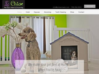 Le Chien Pet Spa | Boarding