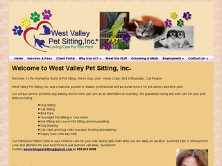 West Valley Pet Sitting Inc. | Boarding