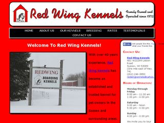 Red Wing Boarding Kennels | Boarding