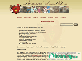 Lakeland Animal Clinic | Boarding