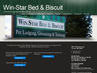 Win Star Bed & Biscuit | Boarding