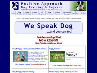 Positive Approach Dog Training Tacoma