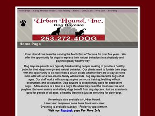 Urban Hound Dog Daycare Tacoma