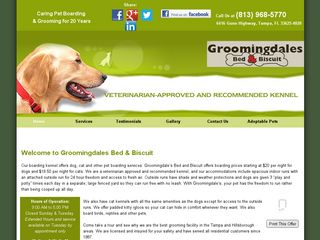 Groomingdales Bed Biscuit | Boarding