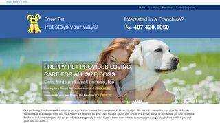 Preppy Pet Tampa | Boarding