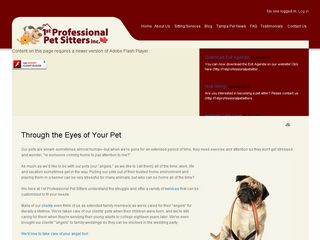 First Professional Pet Sitters | Boarding