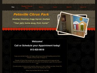 Petsville of Citrus Park | Boarding
