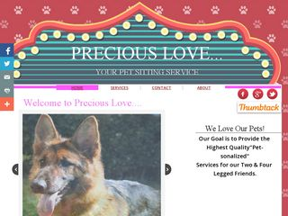 Precious My Love Pet Sitting | Boarding