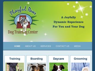 Playful Paws Dog Training Center | Boarding