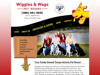 Wiggles and Wags | Boarding