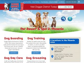 Doggie District | Boarding
