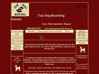 Top Dog Kennel Toney