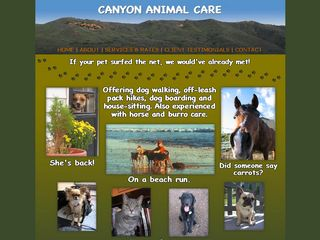 Canyon Animal Care | Boarding
