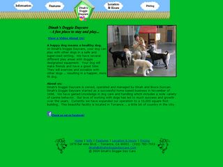 Dinahs Doggie Daycare | Boarding