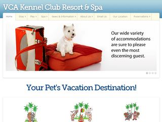 VCA Kennel Club Resort   Spa | Boarding