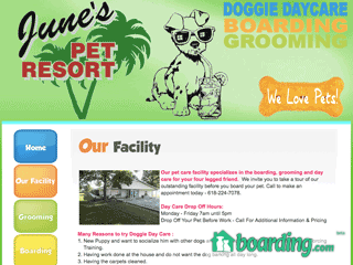 June's Pet Resort Trenton