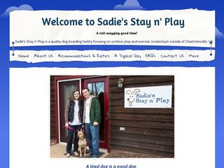 Sadies Stay n Play | Boarding