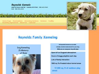 Reynolds Kennels | Boarding