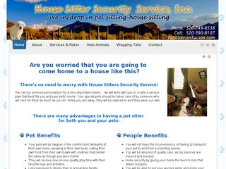 House Sitter Security Service Inc | Boarding