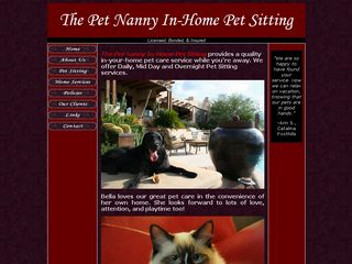 The Pet Nanny In Home Pet Sitting LLC | Boarding